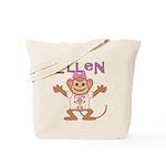 Little Monkey Ellen Tote Bag