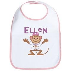 Little Monkey Ellen Bib