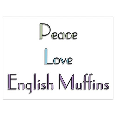english muffin Poster