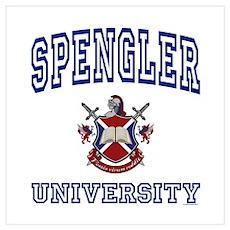 SPENGLER University Poster