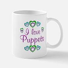 I Love Puppets Mug