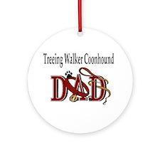 Treeing Walker Coonhound Ornament (Round)