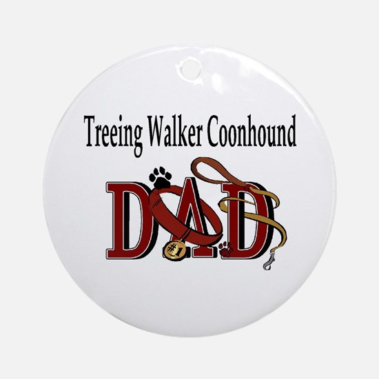 Treeing Walker Coonhound Ornament (Round)