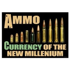 Ammo: Currency Millenium Framed Print