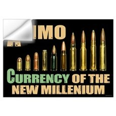 Ammo: Currency Millenium Wall Decal