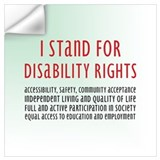 Disability Wall Decals