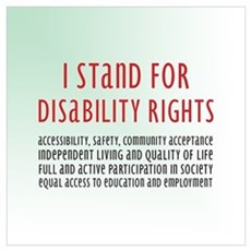 Disability Rights Canvas Art