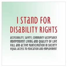 Disability Rights Framed Print