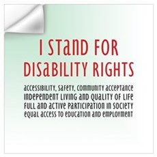 Disability Rights Wall Decal