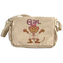 Little Monkey Gail Messenger Bag