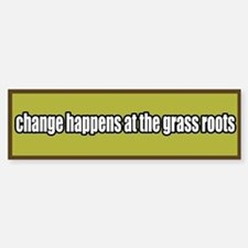 Grass Roots Organizing Bumper Bumper Bumper Sticker