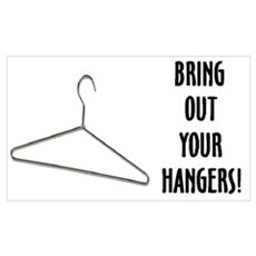 Abortion: Coat Hanger Logic Poster