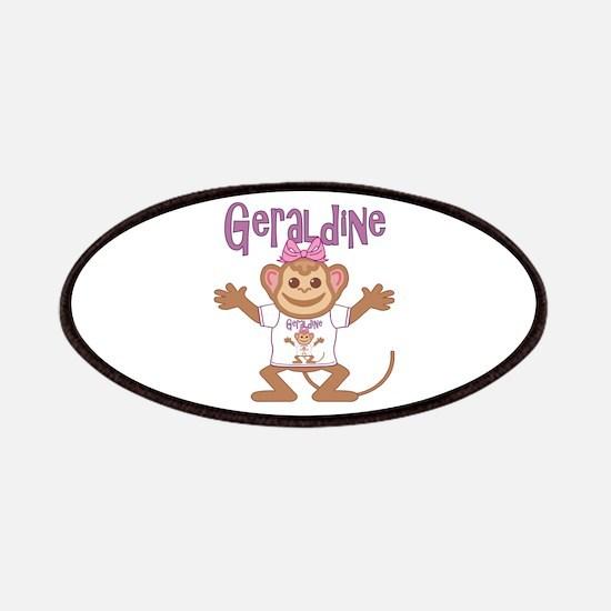 Little Monkey Geraldine Patches
