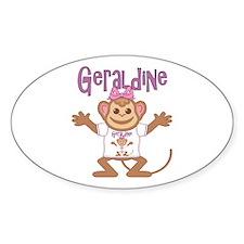 Little Monkey Geraldine Decal
