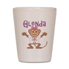 Little Monkey Glenda Shot Glass