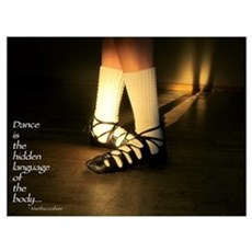 Irish Dance Poster