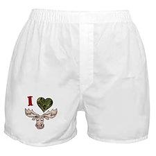 I love a Moose! Boxer Shorts