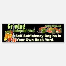 Self-Sufficiency / Edible Landscaping Bumper Bumper Sticker