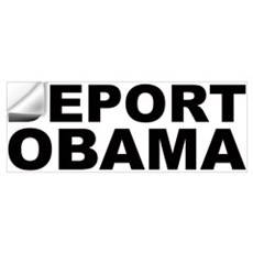 DEPORT OBAMA Wall Decal