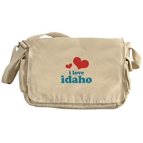 I Love Idaho Messenger Bag