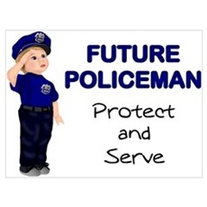 Future Policeman Poster