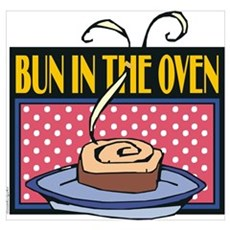 Bun in the Oven Poster