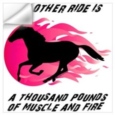My Other Ride Is A Horse Wall Decal