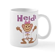 Little Monkey Heidi Mug