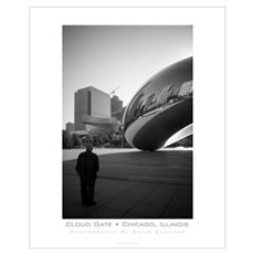 "Chicago's Millennium Park ""Cloud Gate"" Poster"