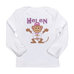 Little Monkey Helen Long Sleeve Infant T-Shirt