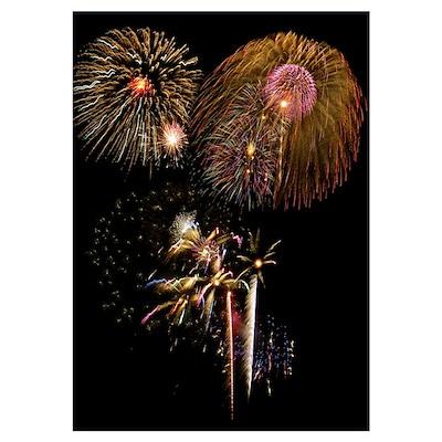 - Fireworks (Multiple bursts) Poster