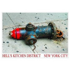 Hell's Kitchen Fire by Urban59 Studio NYC