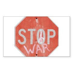 STOP WAR III Decal