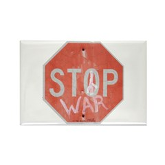 STOP WAR III Rectangle Magnet (100 pack)