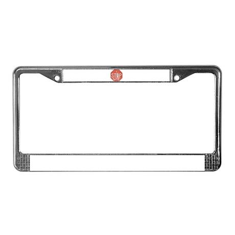 STOP WAR III License Plate Frame