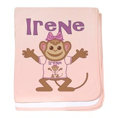 Little Monkey Irene baby blanket