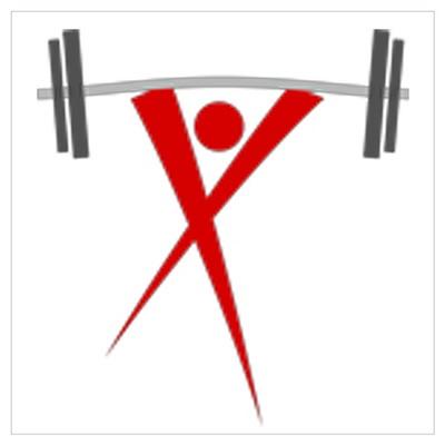 X-Man HWC Logo Poster