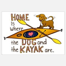 Home is Where the Dog and the Kayak Are