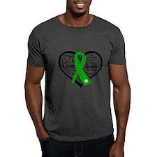 Cerebral Palsy Heart Ribbon T-Shirt