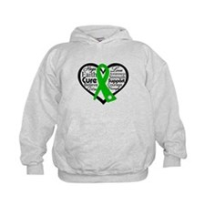 Cerebral Palsy Heart Ribbon Hoody