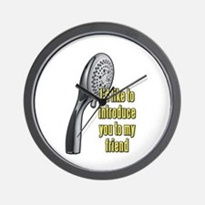 Let Me Introduce You To My Friend Wall Clock