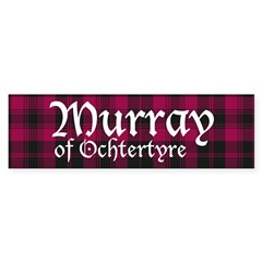 Tartan - Murray of Ochtertyre Sticker (Bumper)