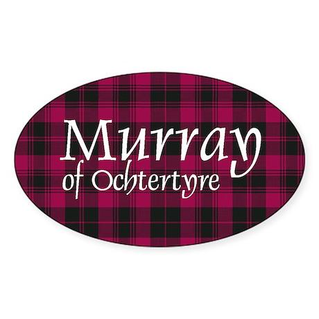 Tartan - Murray of Ochtertyre Sticker (Oval)