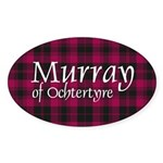 Tartan - Murray of Ochtertyre Sticker (Oval 50 pk)