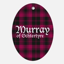 Tartan - Murray of Ochtertyre Ornament (Oval)