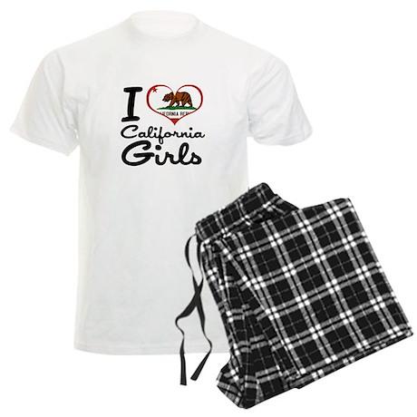 I Love California Girls Men's Light Pajamas