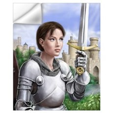 Joan of Arc Wall Decal