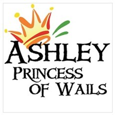 Ashley Princess of Wails Framed Print