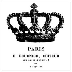 PARIS CROWN Poster