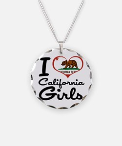 I Love California Girls Necklace